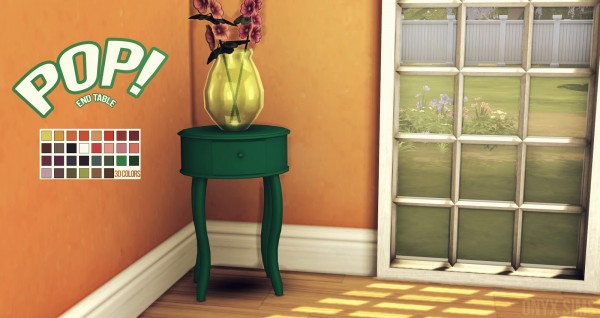 Onyx Sims: POP! End Table