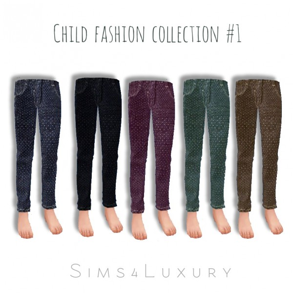 Sims4Luxury: Child collection 1