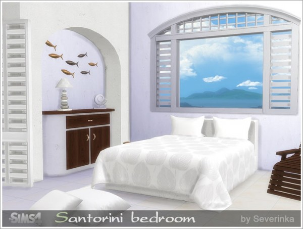 Sims by Severinka: Santorini bedroom