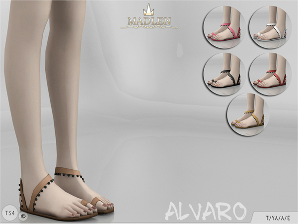 The Sims Resource: Madlen Alvaro Shoes by MJ95