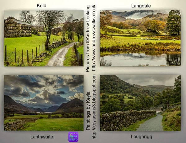 Keyla Sims: Andrew Locking paintings