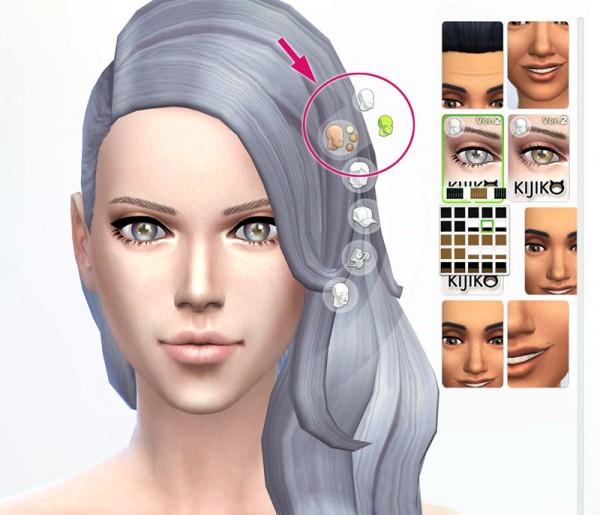 Kijiko: 3D Lashes Version 2 • Sims 4 Downloads