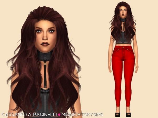 Simsworkshop: Cassandra Pacinelli model by midnightskysims
