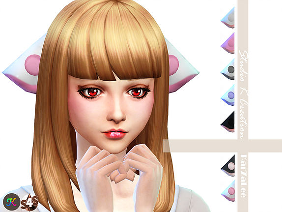 Studio K Creation Chobits Ears Sims 4 Downloads