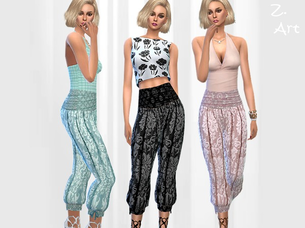 The Sims Resource: Summer Pants IV by Zuckerschnute20
