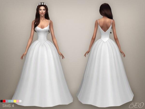 Sims 4 Wedding Dress.Beo Creations Lily Wedding Dress Sims 4 Downloads