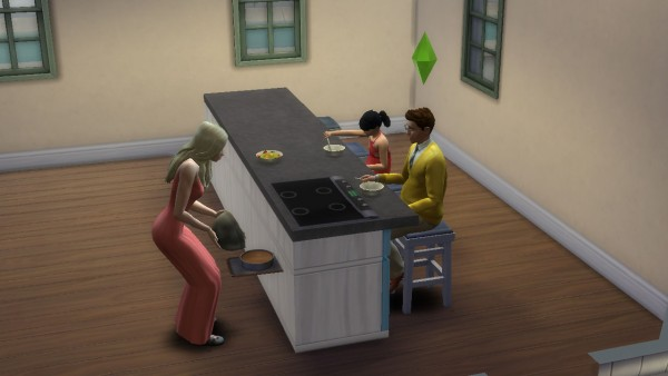 Mod The Sims: Functional Counter Top Stove by necrodog
