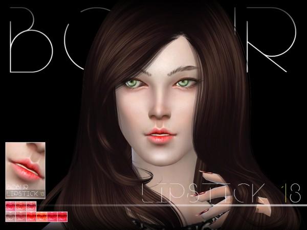 The Sims Resource: Bobur Lipstick N13