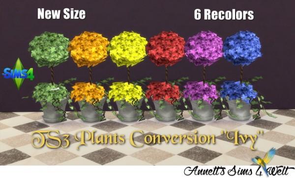 Annett`s Sims 4 Welt: Plants Conversion Ivy
