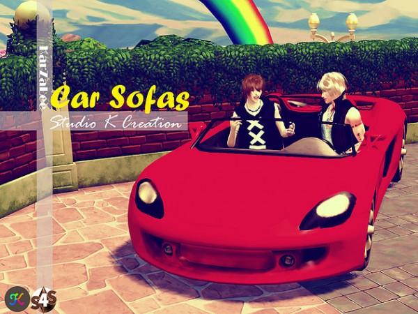 Studio K Creation Car Sofas Sims 4 Downloads