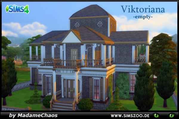 Blackys Sims 4 Zoo: Viktoriana Empty house by MadameChaos