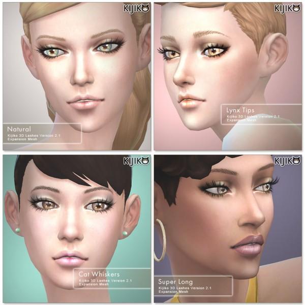 Kijiko: 3D Lashes Version2