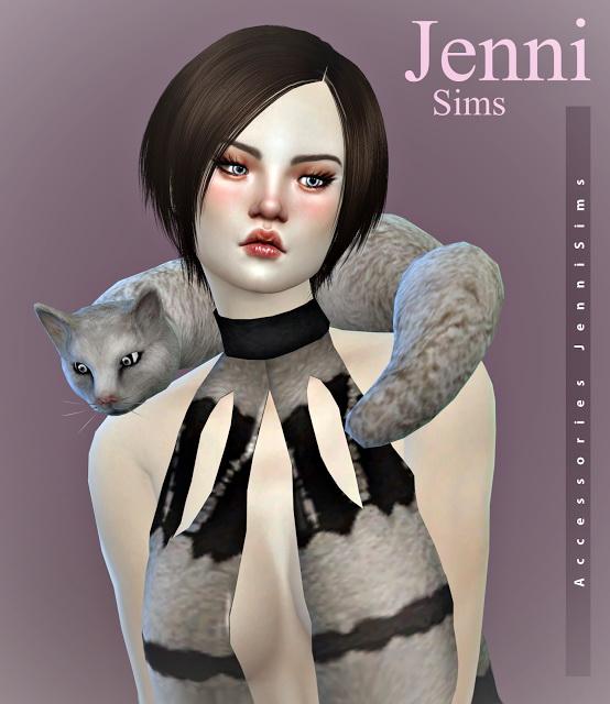 Jenni Sims: Accessory Cat
