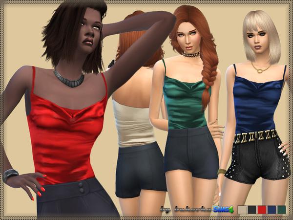 The Sims Resource: Shirt Swing Collar by Bukovka