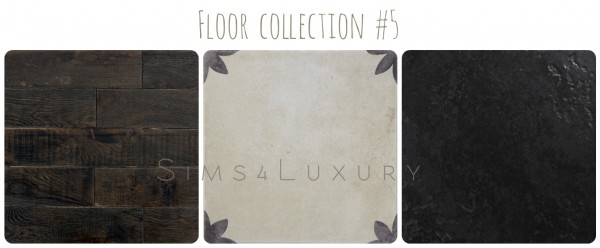 Sims4Luxury: Floor collection 5