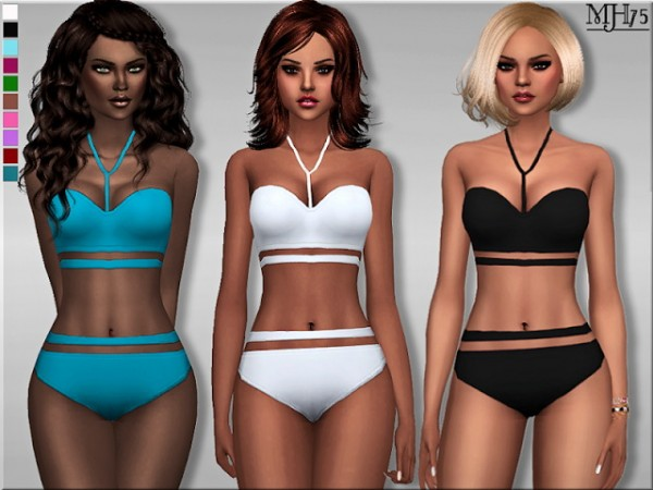Sims Addictions: Cut Out swimsuit