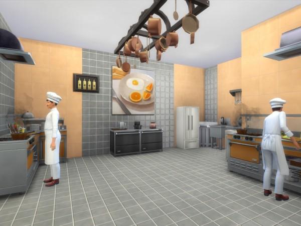 The Sims Resource: The Gourmet   Restaurant by Danuta720