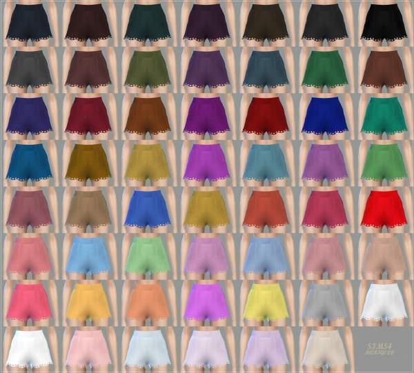 SIMS4 Marigold: Wave Hot Pants