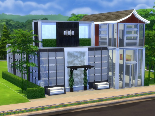 The Sims Resource: Koi   Japanese Restaurant by Aibrean