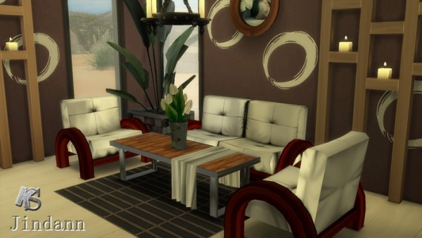 Khany Sims: Salon LOCKHART  living set