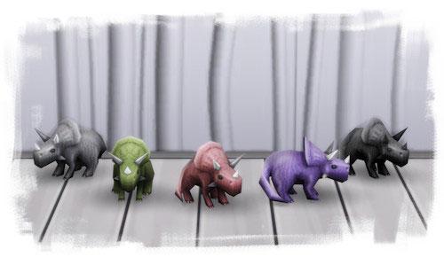 La Luna Rossa Sims: Teresa the Triceratops