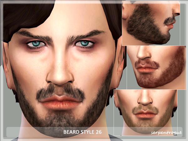The Sims Resource: Beard Style 26 by Serpentogue
