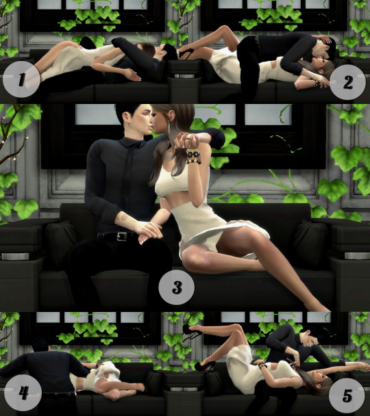 Simsworkshop Sofa Couple Pose Set 1 By ConceptDesign97