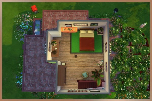 Blackys Sims 4 Zoo: Ronja house by  Cappu