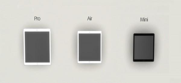 Paluean R Sims: iPad air pro mini