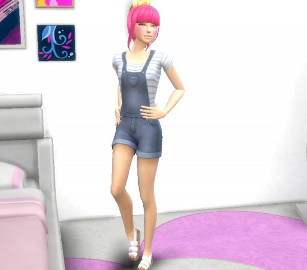 Simsworkshop: Model Poses  CAS Goofball by Lovelysimmer100