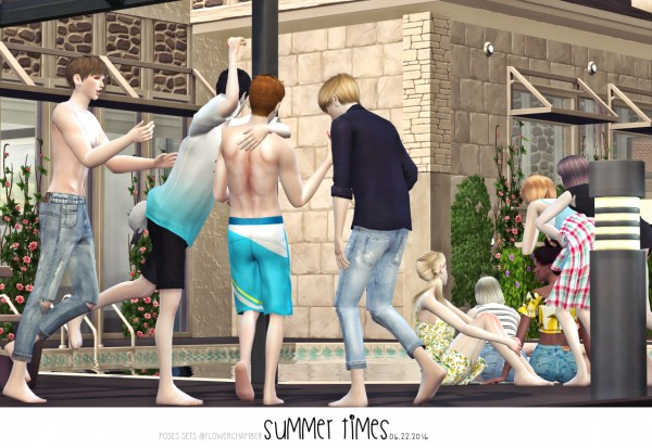 Flower Chamber: Summer times poses