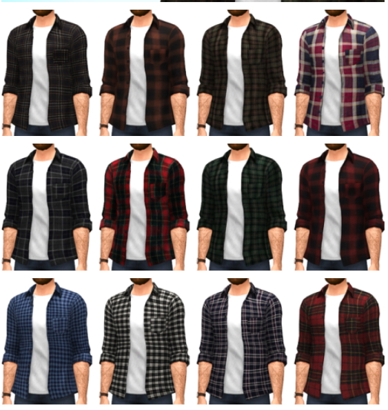 Marvin Sims: Flannel Shirts