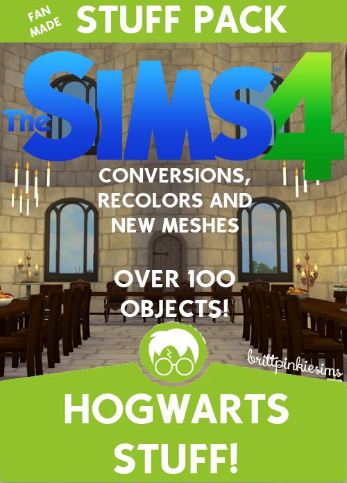 Brittpinkiesims Hogwarts Stuff Sims 4 Downloads