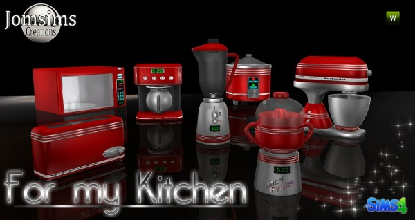 Jom Sims Creations: INIXISUM kitchen