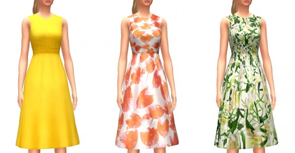 Marvin Sims: Day Time Dresses