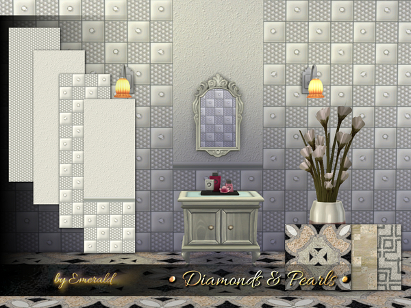 The Sims Resource: Diamonds & Pearls by Emerald