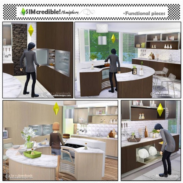 SIMcredible Designs: Hemisphere kitchen