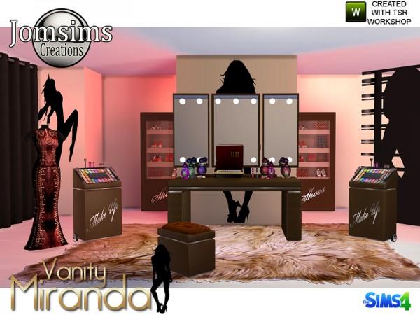 The Sims Resource: Miranda Vanity Beauty by jomsims