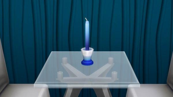 La Luna Rossa Sims: Decorative candle