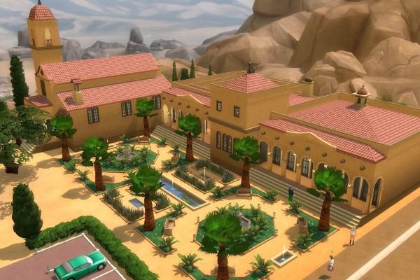 Mod The Sims: Mission San Simeon   Wedding Venue no CC by alexpilgrim