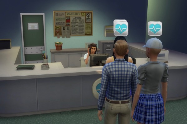 Mod The Sims: Goth Memorial Hospital by alexpilgrim