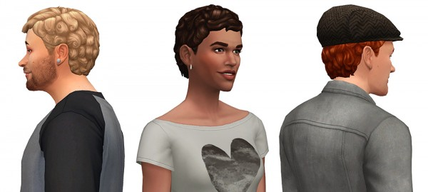 Simsontherope: Echos hairstyle converted