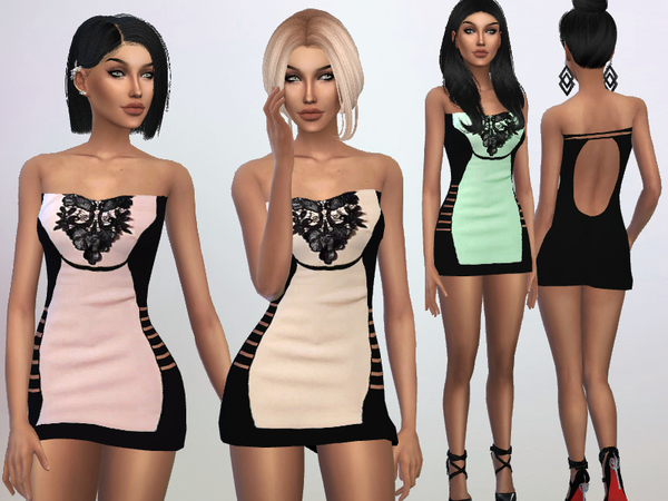 The Sims Resource: Mini Dress by Puresim