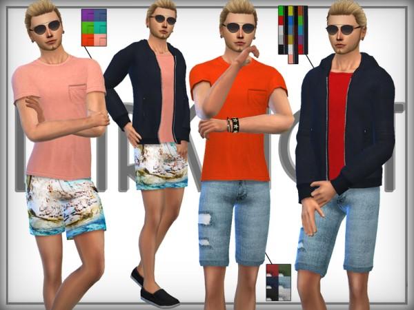 The Sims Resource: SET 14   Summer Sport Fashion Set by DarkNighTt