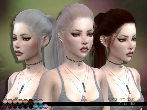 The Sims Resource: LeahLillith Everlast Hair