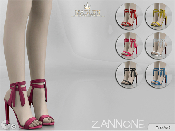 The Sims Resource: Madlen Zannone Shoes by MJ95