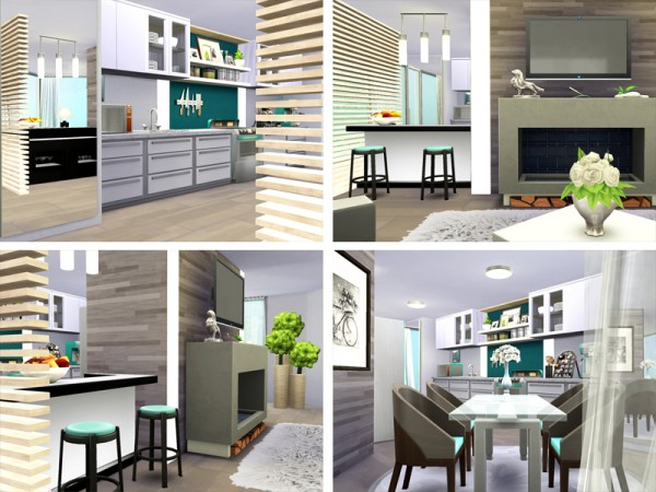 The Sims Resource: Soraya house by Rirann