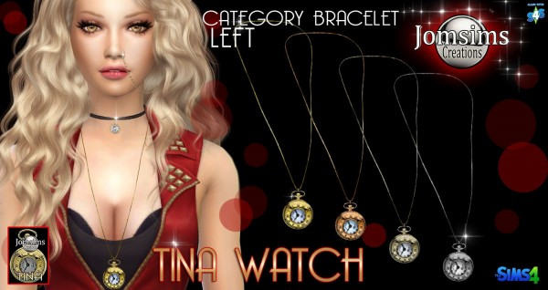 Jom Sims Creations: Montre Tina necklace