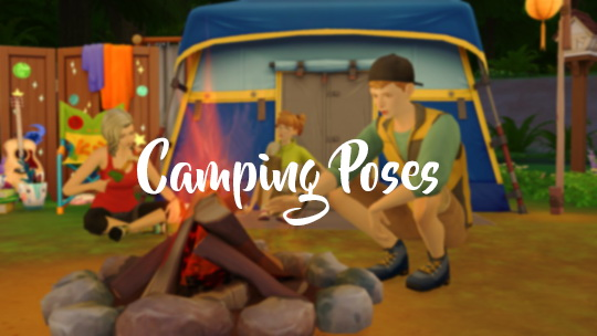 Rinvalee: Camping Poses + Selfie Poses