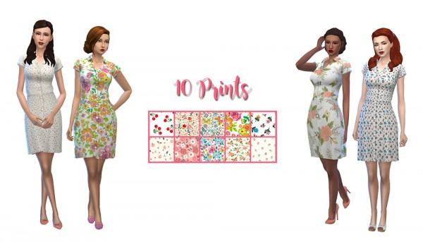 Simsworkshop: House Dress Recolors by deelitefulsimmer